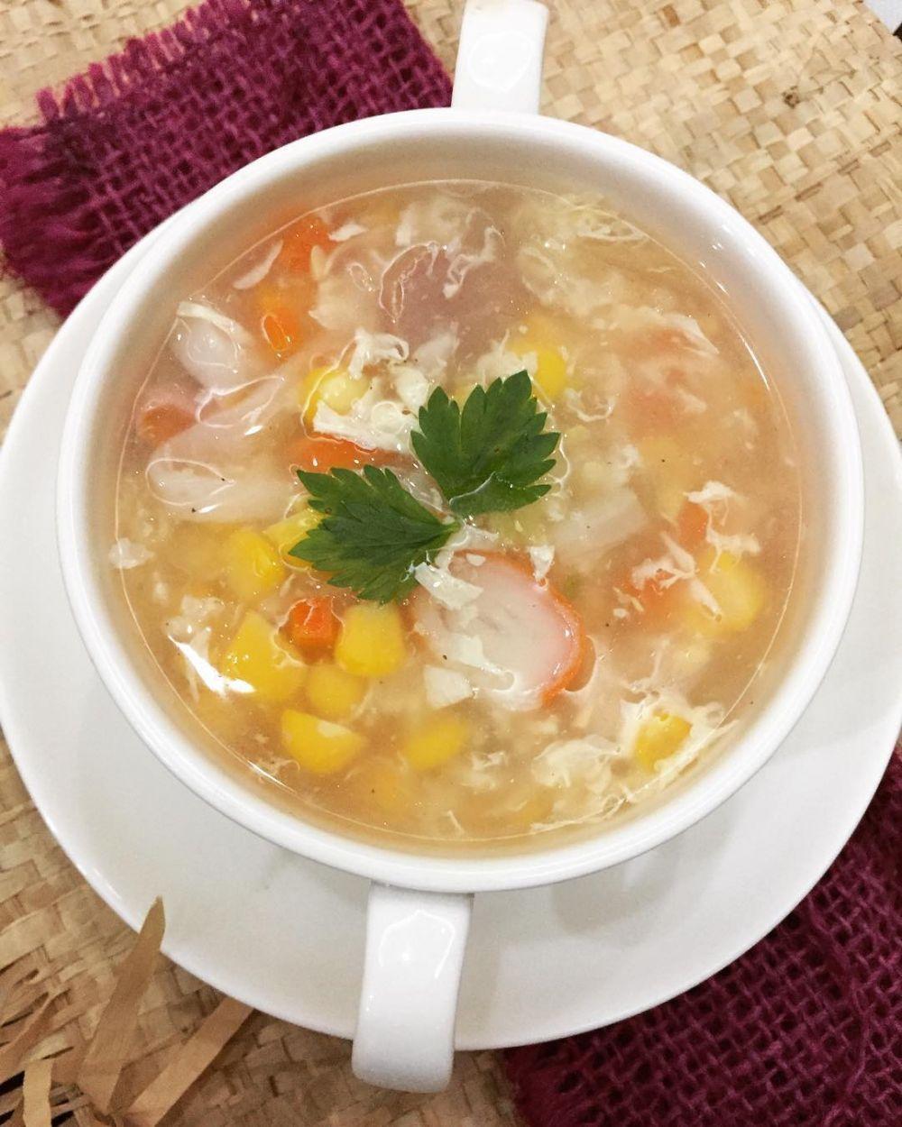 10 Cara Membuat Sup Jagung Enak Sederhana Dan Praktis Instagram A Dama Resep Makanan8 Di 2020 Sederhana Sup Resep