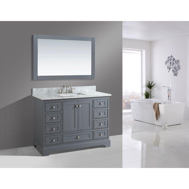 Urban Furnishing Jocelyn 48 in Single Bathroom Vanity Set with