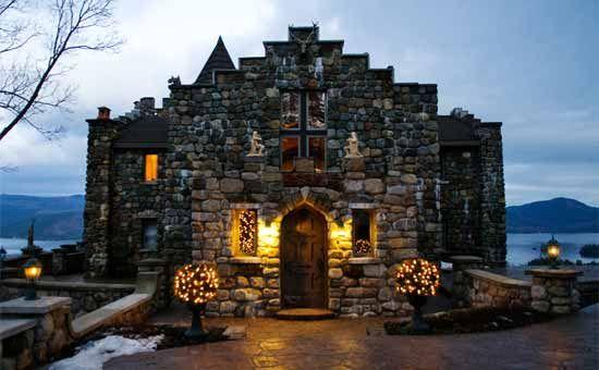 Highlands Castle - Bolton Landing, Adirondack Park