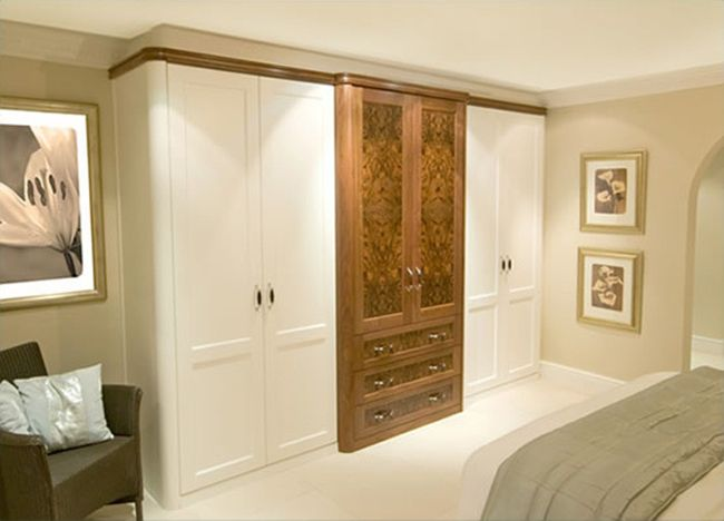 Bedroom Furniture Fitted neat-ideas-of-burr-walnut-white-fitted-wardrobes (650×468