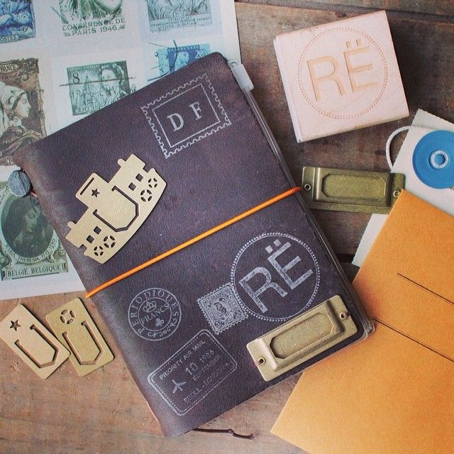 Midori Traveler's Notebook @R Ë S O R #ResorShop  http://blog.resorshop.com/2014/02/give-away-alert/