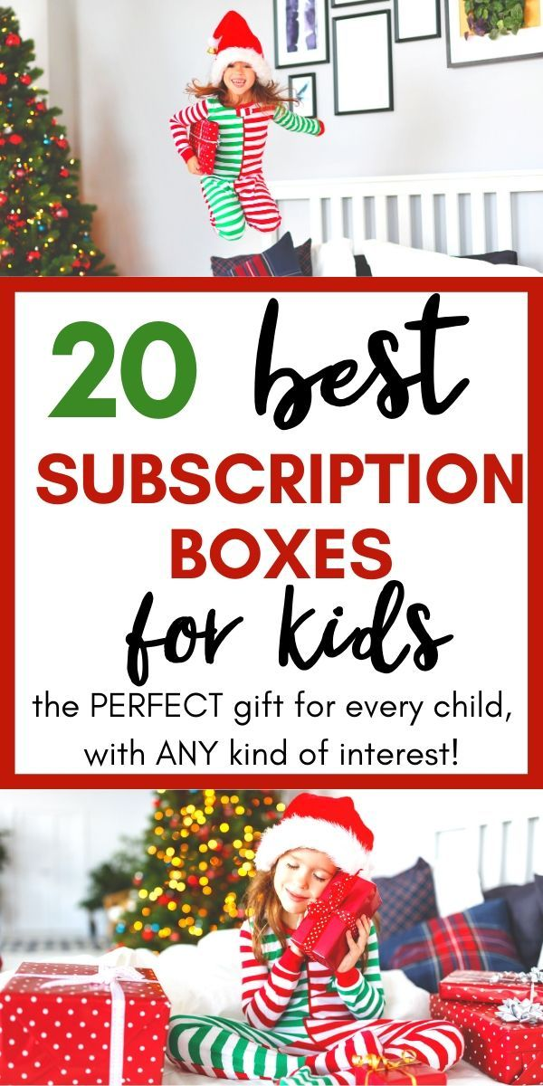20+ of the Best and Most Unique Subscription Boxes for Kids