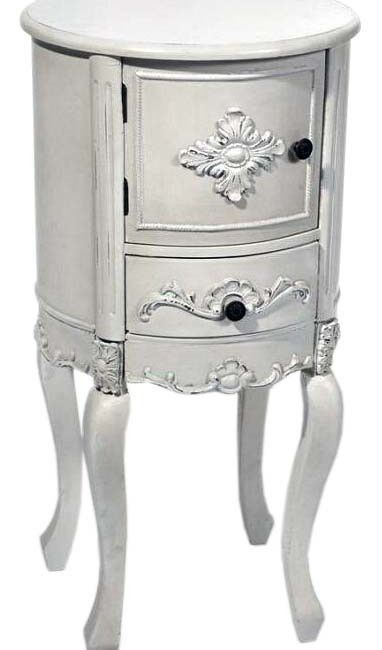 Antique White Round Bedside Table A Stunning Small Furniture Unit Maladot Home Furniture Sto Bedside Table Round At Home Furniture Store Small Furniture