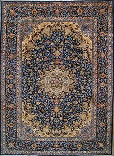 Isfahan Silk Persian Rug Exclusive Collection Of Rugs And Tableau Treasure Gallery You Pay 9 900 00 Retail Price