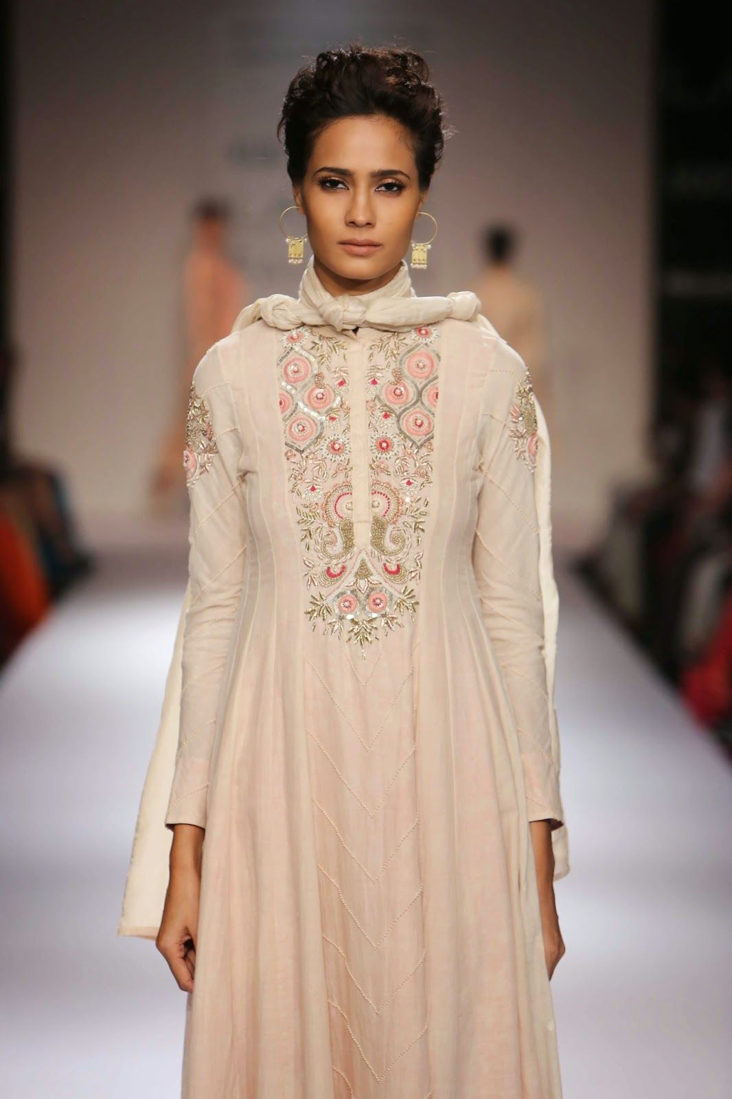 Lakme Fashion Week Winter Festive 2014 Lakme Fashion Week Designer Dresses Indian Fashion