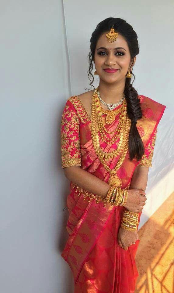 Pin By Vinodini On Bridal Jewelry Wedding Saree Blouse Designs Bridal Blouse Designs Wedding Blouse Designs