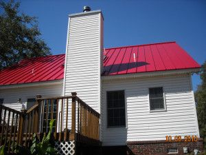 Red Standing Seam Metal Roofing   Columbia Roofing Company | Roof Repairs |  Bauer Roofing Bauerroofs