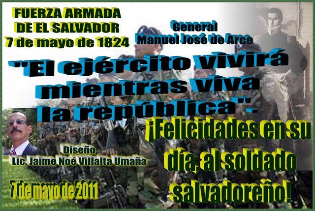 VALORES MORALES Y CÍVICOS: La Fuerza Armada de El Salvador