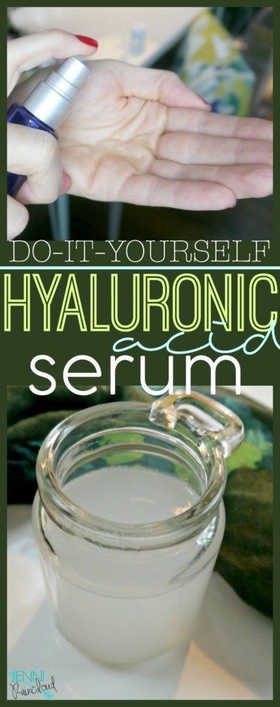 Hyaluronic Acid Serum DIY #skincare