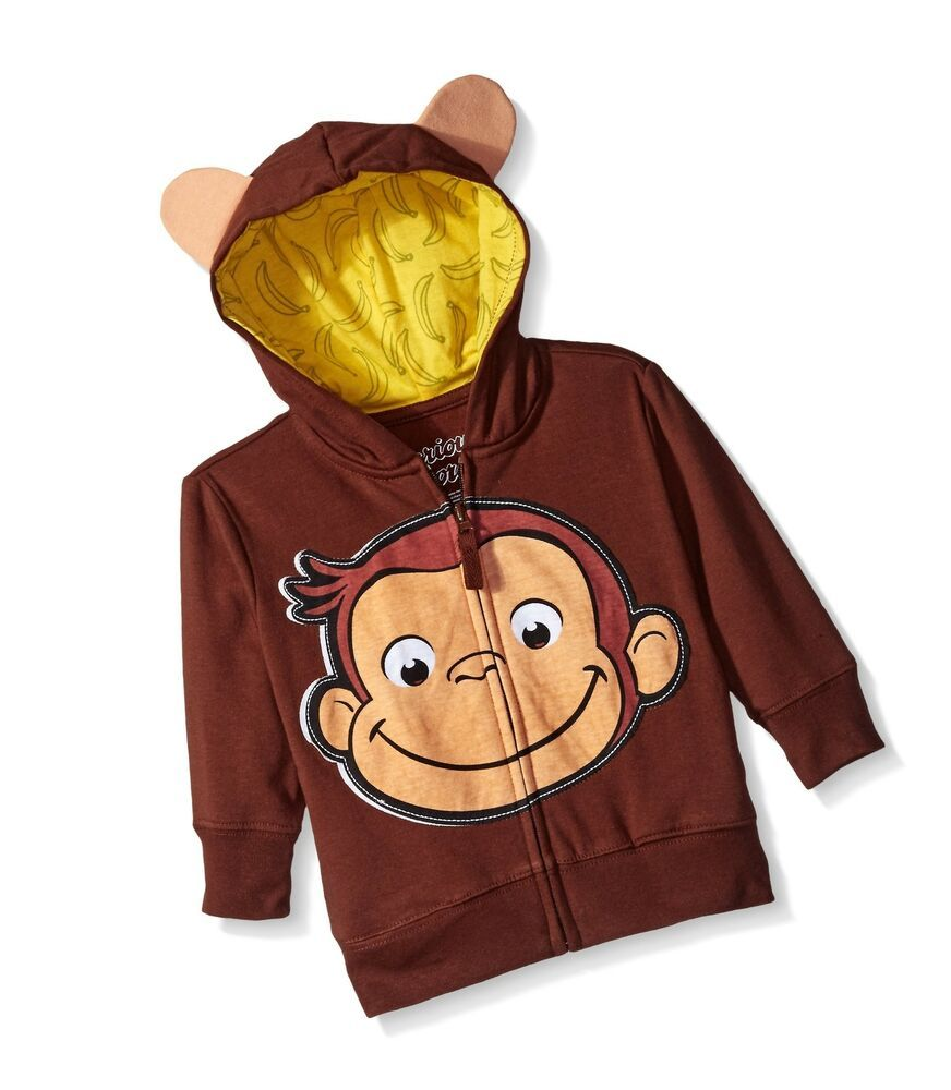 Curious George Boys Character Hoodie