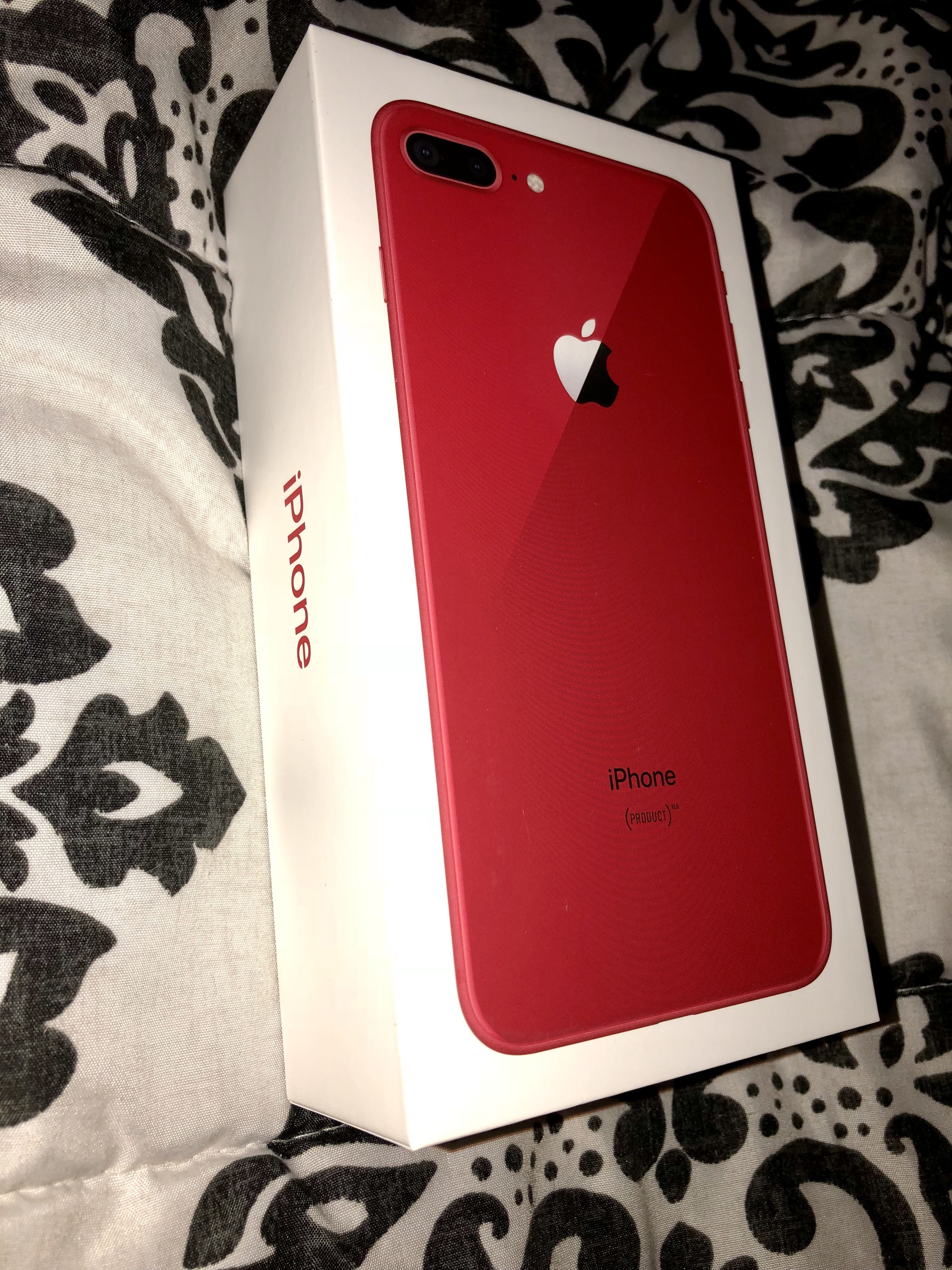 Iphone 8 Plus Product Red Apple Iphone Accessories Apple