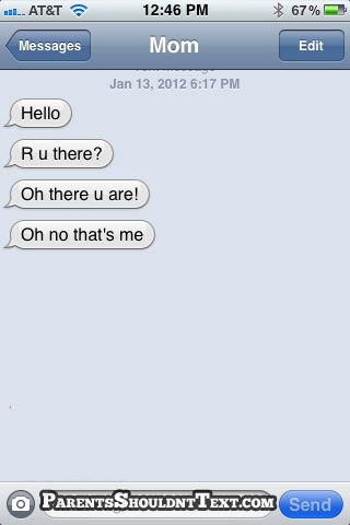 I love that this lady texted herself...after she realized it was HERSELF! lol