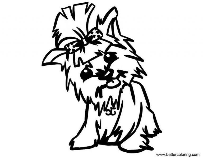 Free Yorkie Puppy Coloring Pages Baby Yorkie Coloring Pages Free Printable Coloring Pages Free Puppy Pages Puppy Coloring Pages Dog Coloring Page Yorkie Puppy
