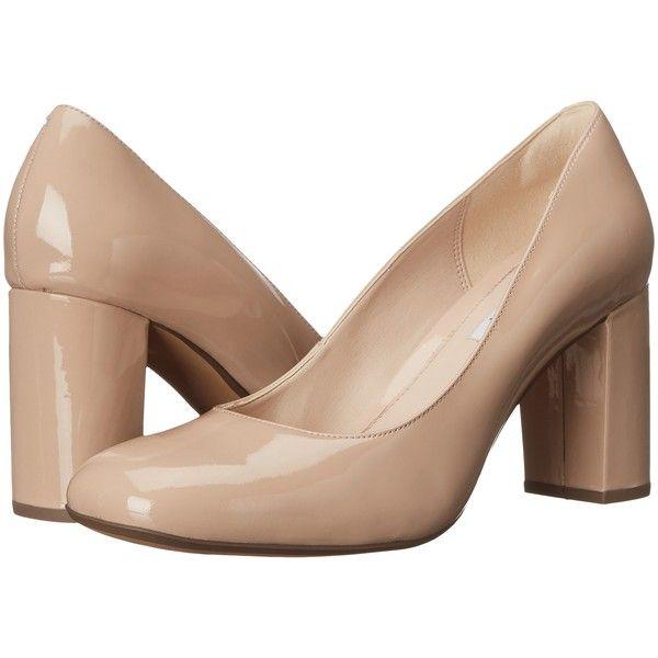 d0a3d8f7 Clarks Gabriel Mist (Nude Patent) High Heels ($37) ❤ liked on ...
