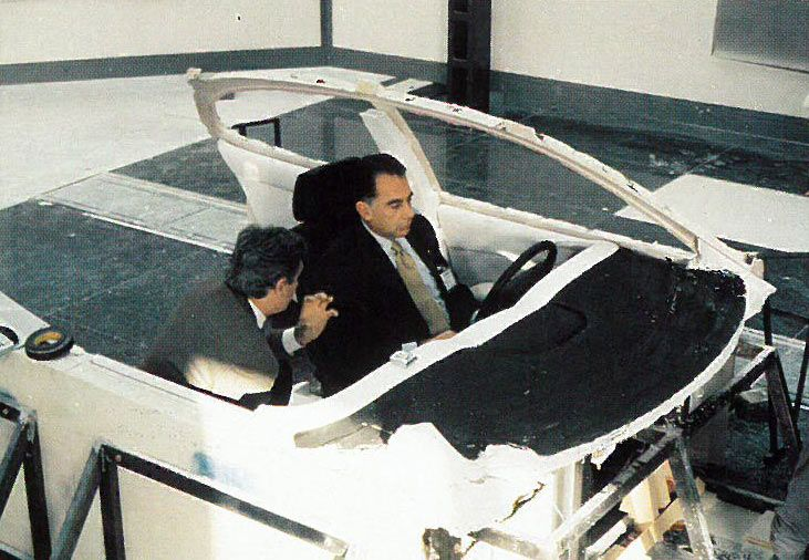 OG |1992 Bugatti EB112 | Seating buck