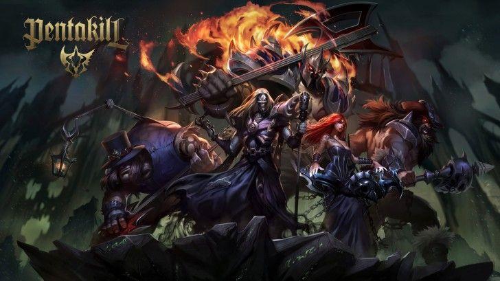 New Pentakill Yorick Karthus Sona Olaf Mordekaiser 1080p Champions League Of Legends League Of Legends League Of Legends Game
