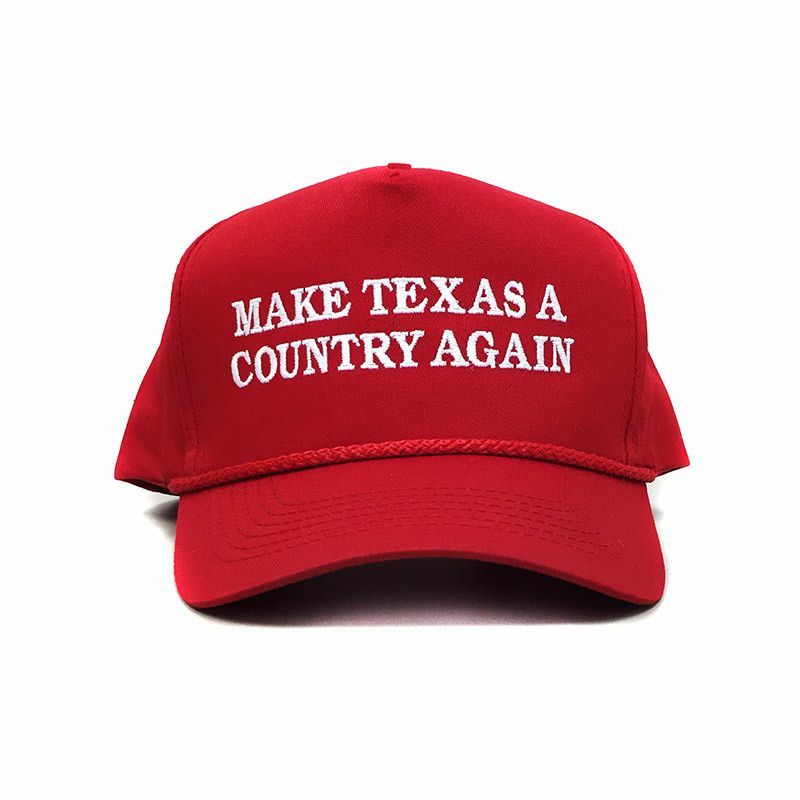 Make Texas A Country Again Classic Rope Hat - Red  59a017fa0a22