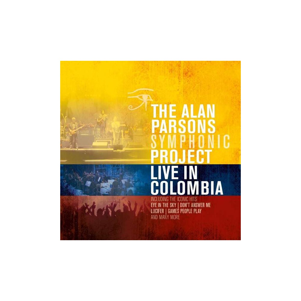 Alan Parsons Symphonic Project Live In Colombia Vinyl Alan