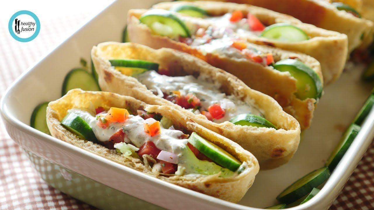 Whole Wheat Pita With Mince Filling Recipe By Healthy Fusion Filling Recipes Whole Wheat Pita Recipes