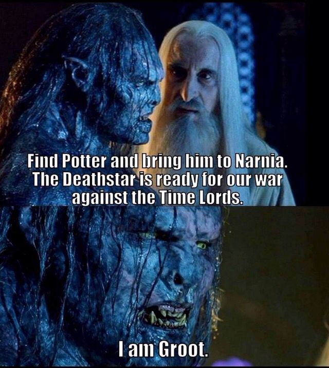Lotr Marvel Harry Potter Dr Who Narnia Memes Narnia Funny Memes