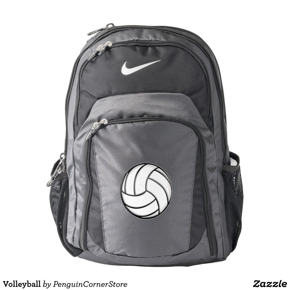 Volleyball Nike Backpack Zazzle Com Ropa De Voleibol Deportes De Equipo Nike
