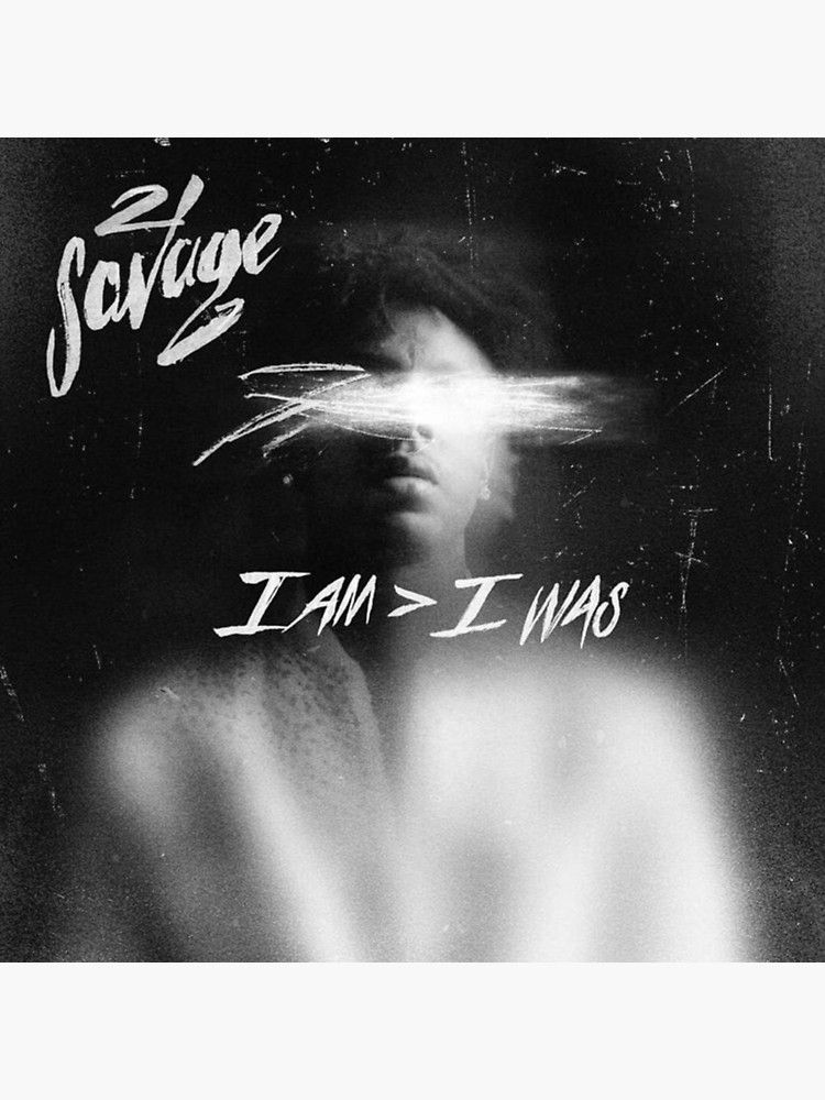 11+ 21 Savage Album Cover Wallpaper