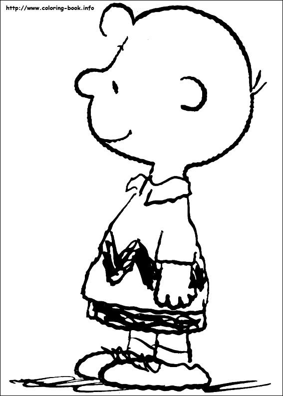 charlie brown coloring pages | Charlie Brown / Peanuts / Charles ...
