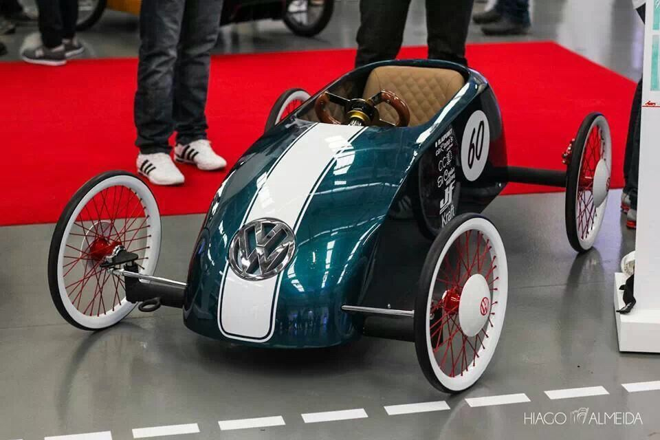 VW pedal car | Car & Bike | Pinterest | Liegerad, Tretautos und Mechanik
