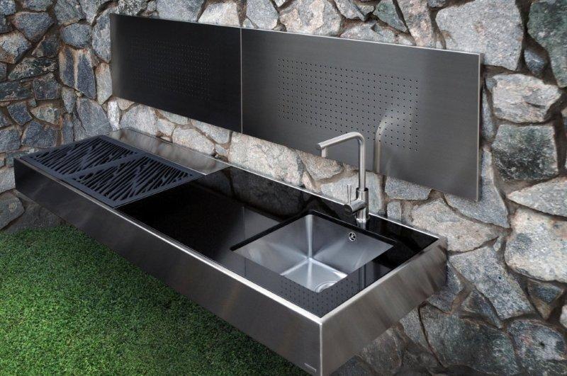 Barbacoa de acero inoxidable cosas que comprar en 2019 - Barbacoa diseno moderno ...
