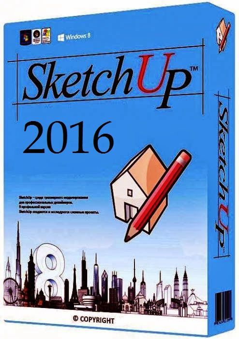 SketchUp Pro 2016 Full Crack Plus License Key Free Version SketchUP