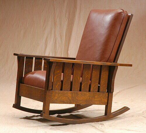 El Dorado Woodworks Morris Rocker Rocking Chair Plans