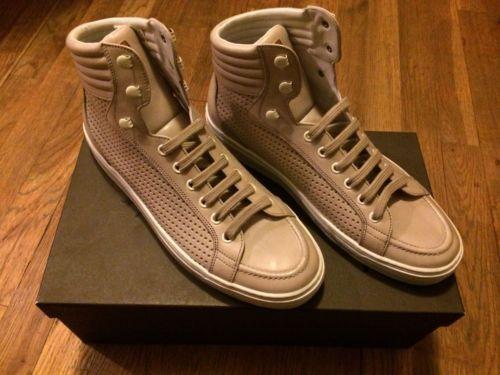 Mens-Tan-Bally-Designer-Sneaker-shoes-size-8