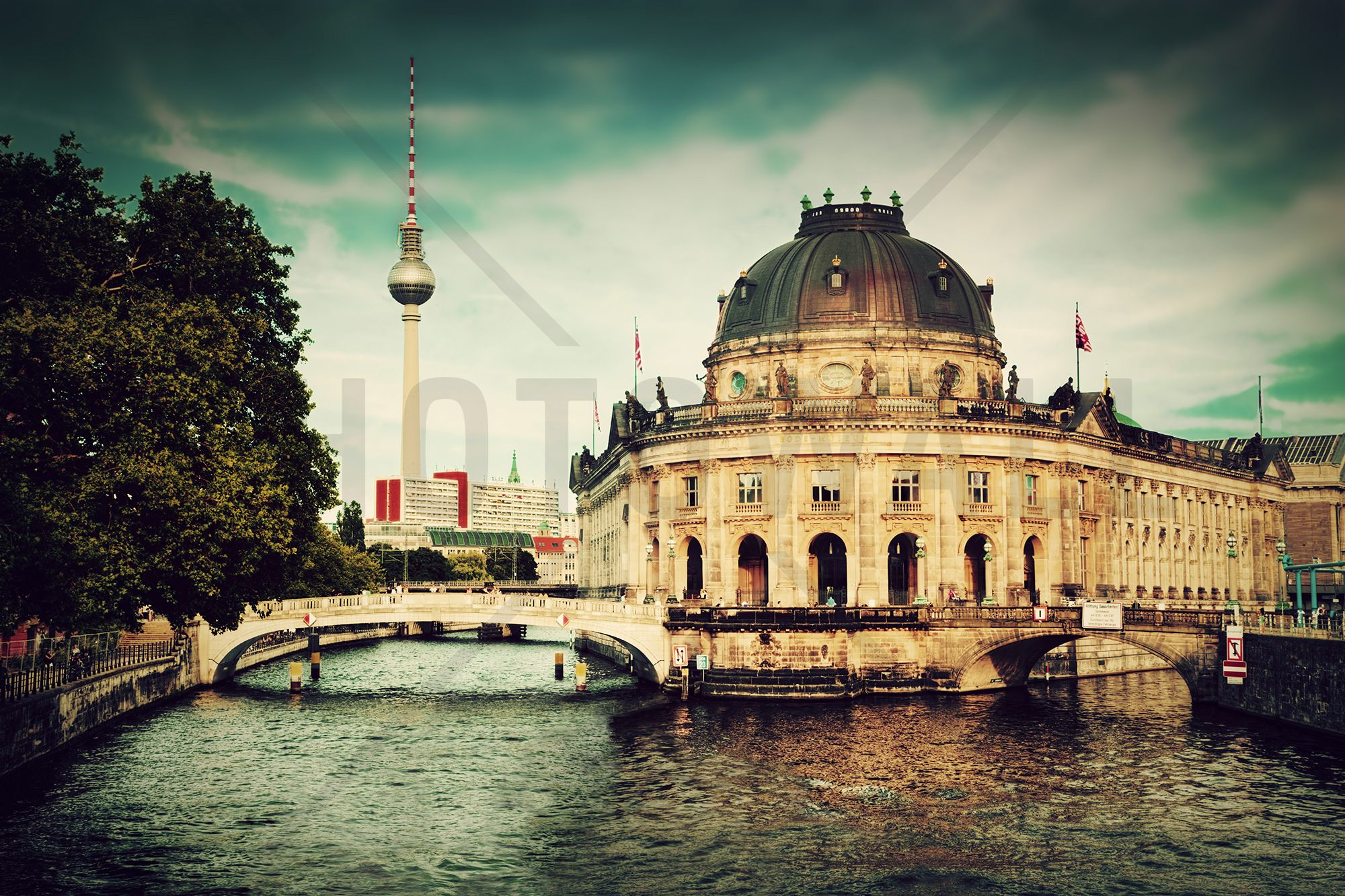 The Bode Museum In Berlin  Wall Mural & Photo