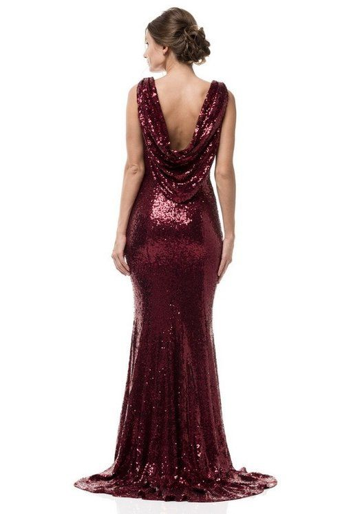 c715f441fa Long Dress | Prom looks in 2019 | Red sequin dress, Dresses, Sequin ...