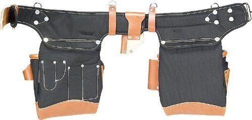 Occidental Leather 9850 Adjust-to-FitTM Fat LipTM Tool Bag Set – Black