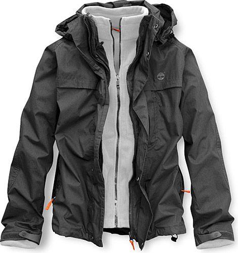 3-in-1 Poplin Jacket by Timberland
