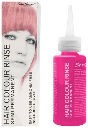 Teinture pour cheveux rose