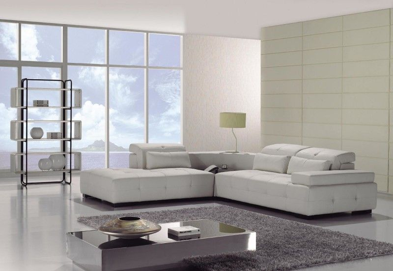 Modern L-shape sectional sofa -- ENTERTAINMENT ROOM | Final ...