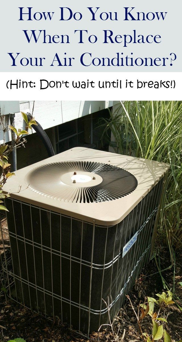 How to decide whether it's time to replace the air