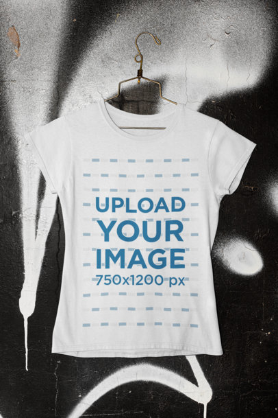Free simple mockup featuring a sleeveless tee places on a wooden hanger. T Shirt Mockups Mockup Generator Placeit In 2021 Tshirt Mockup Shirt Mockup Mockup Generator