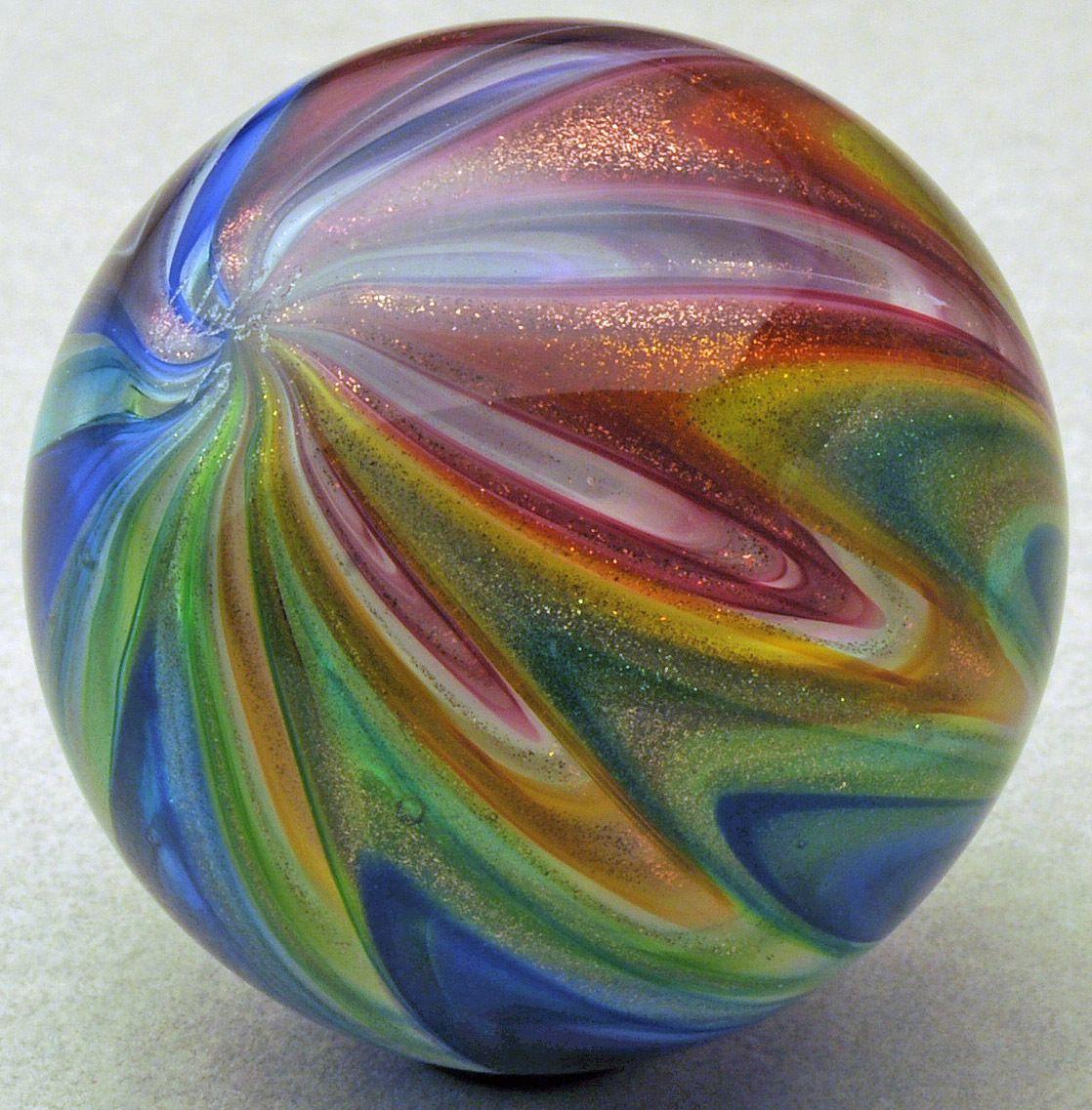 "Wald Glass Aventurine Lutz 1 86"" Northern Beauty Marble | eBay"
