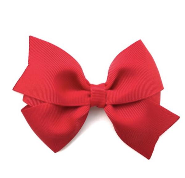 You Pick Color Hair Bows 4 Inch Hair Bows Brown Eyed Bowtique Red Hair Bow Pinwheel Hair Color Hair Bows