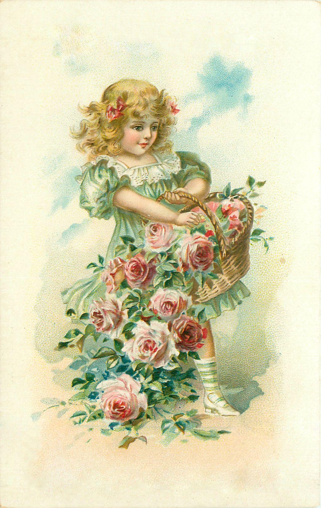 Очень красивые старые открытки