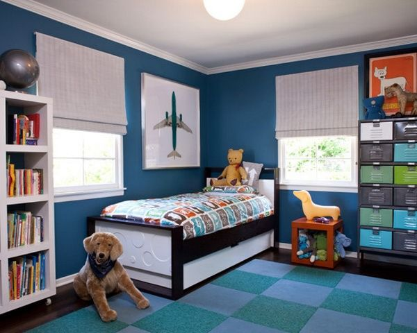 Male teenage room idea colours with grey design, teen boy ...