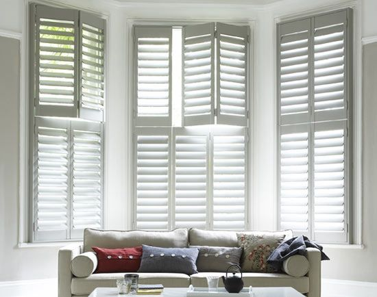 I would love plantation shutters for my living room window ...