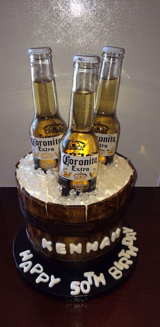 Beer Bucket Cake Cakes By Bless Pinterest Cake Bottle Cake Fascinating Liquor Bottle Cake Decorations