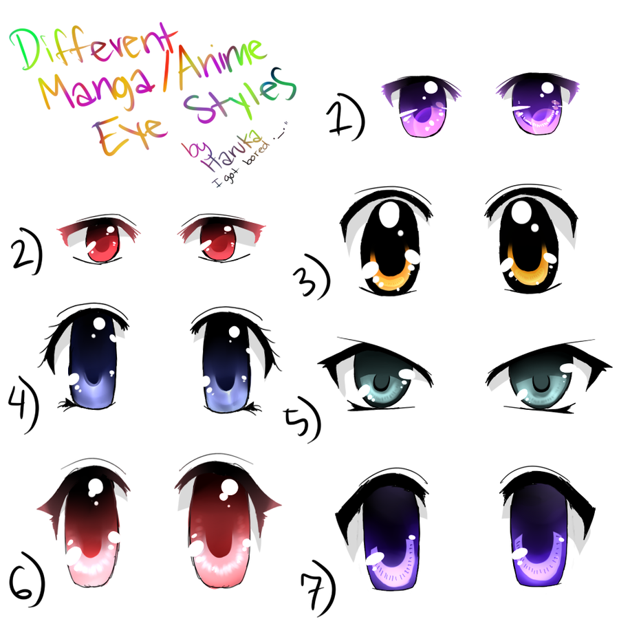 What Eye Color Best Suits You? Anime eyes, Anime, Manga eyes