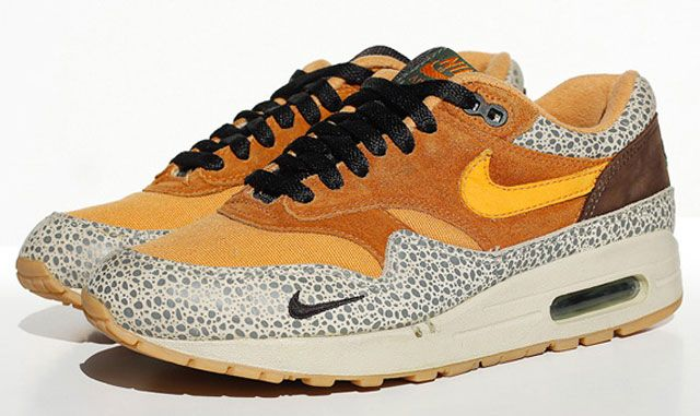 best service 13288 9f5f4 Atmos x Nike Air Max 1 « Safari »