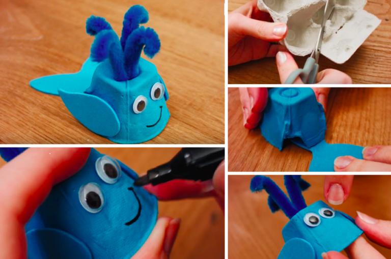 3 bricolages simples avec des objets en carton à réaliser avec vos enfants