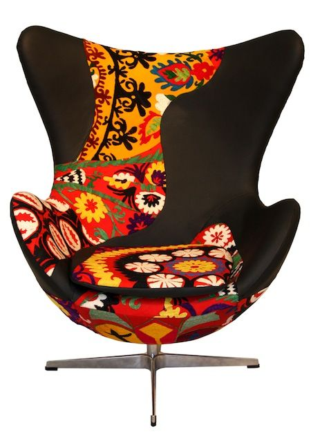 Ecko Chair The Variety Of Pattern And Color Makes These Chairs Remarkable  Statement Pieces.